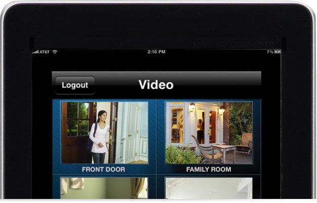 live video for home automation