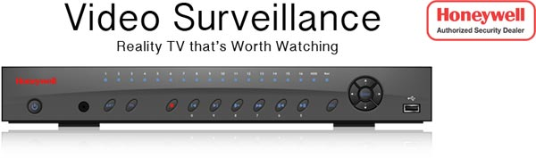Honeywell video surveillance equipment