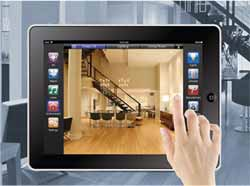 houston home automation tablet