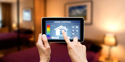 home security and automation tablet