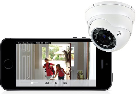 Front Door Wireless Video Security Camera