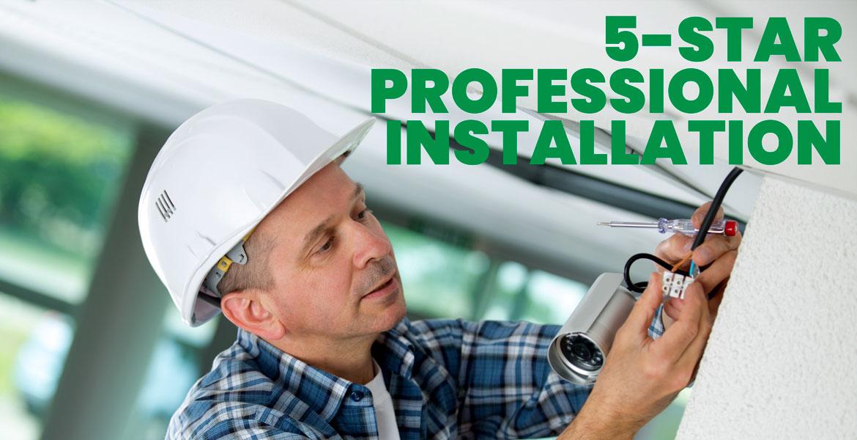 5-Star Professional Alarm Installation