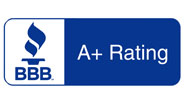 A+ Rating by the BBB