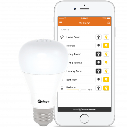 Allied Home Security smart light bulb