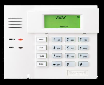 Honeywell vista alarm panel