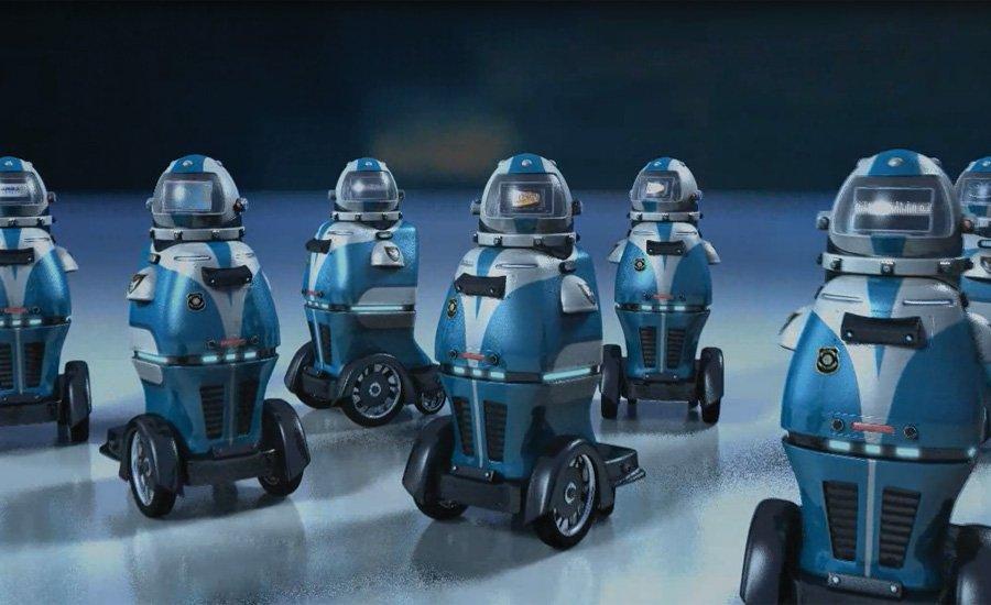 Robo Cops Headed To Houston