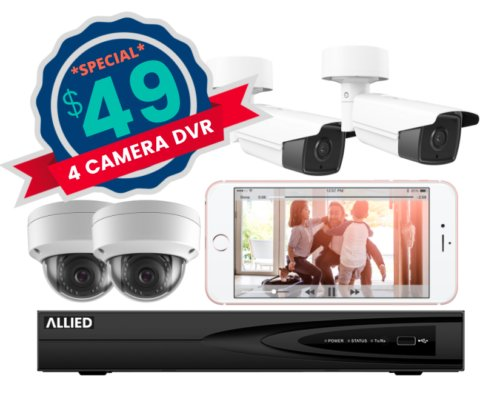 4 Cameras for $49