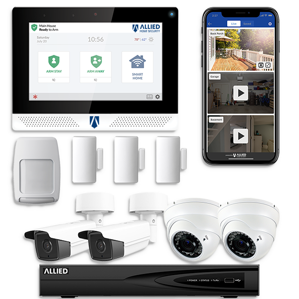 Home Security System Package