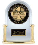 JD Power Award Winning in Home Security Customer Service