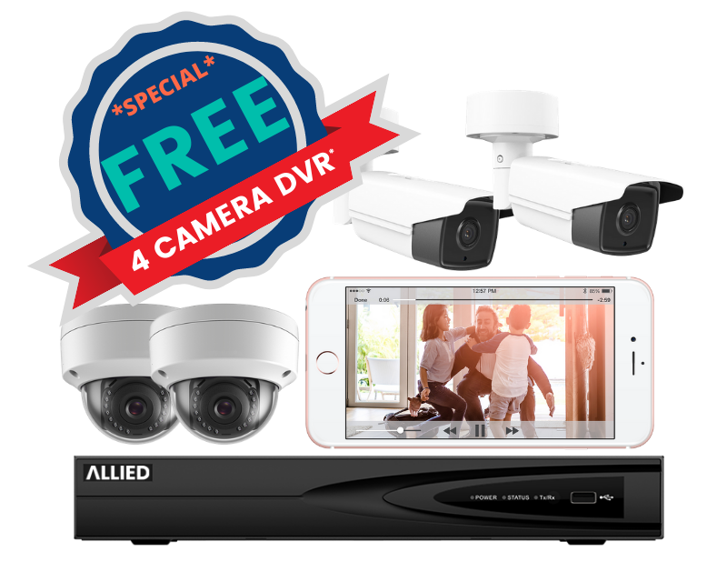 Free 4 Camera DVR System