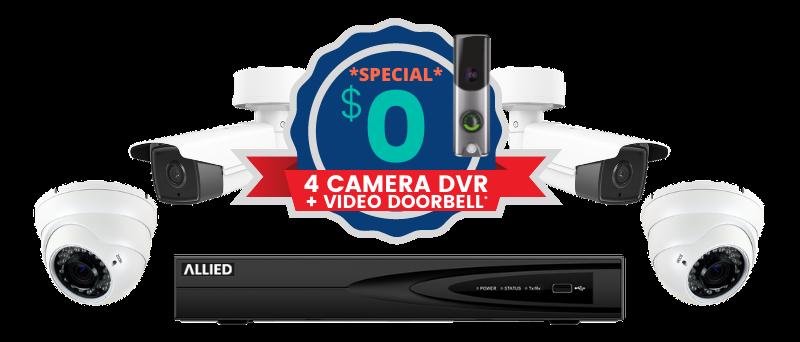 4 Camera DVR Special