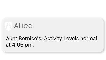 Allied Wellness Notification 3